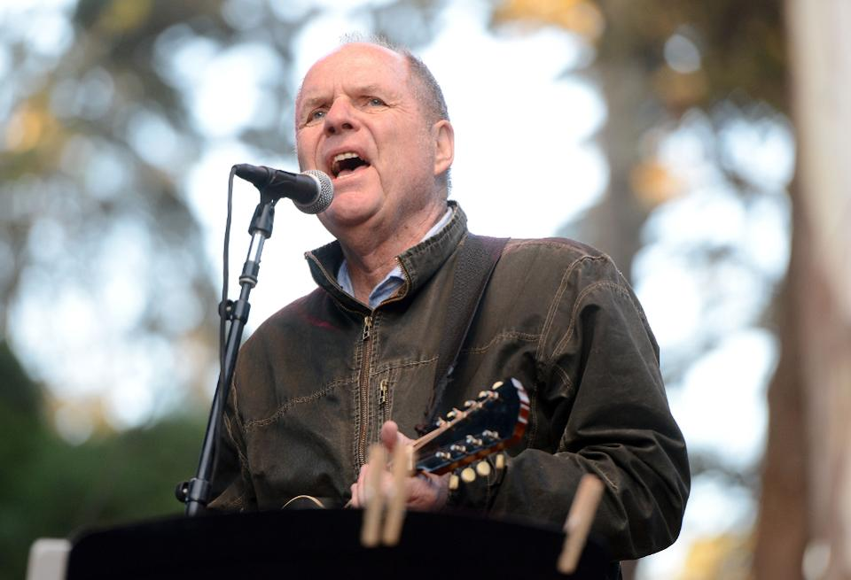 Pat McLaughlin performs onstage during the Hardly Strictly Bluegrass music festival at Golden Gate Park on October 7, 2017 in San Francisco, California.