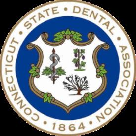 Connecticut state dental association logo