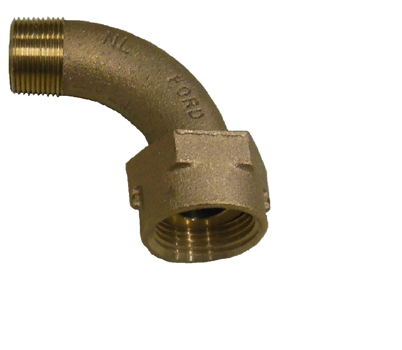 Tailpiece - 90 Degree, Threaded