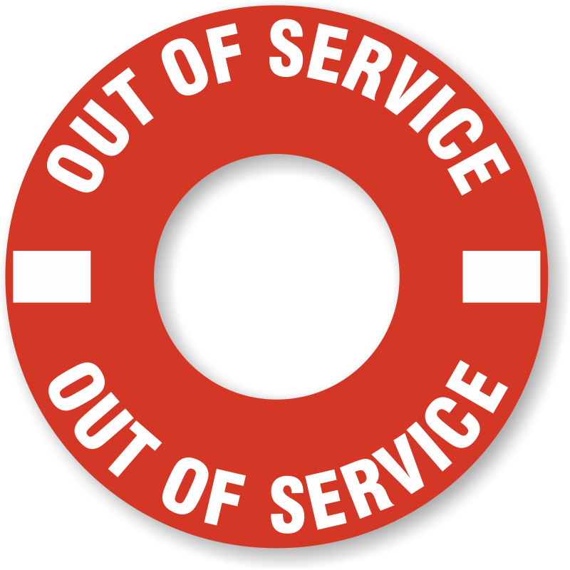 Out Of Service Rings