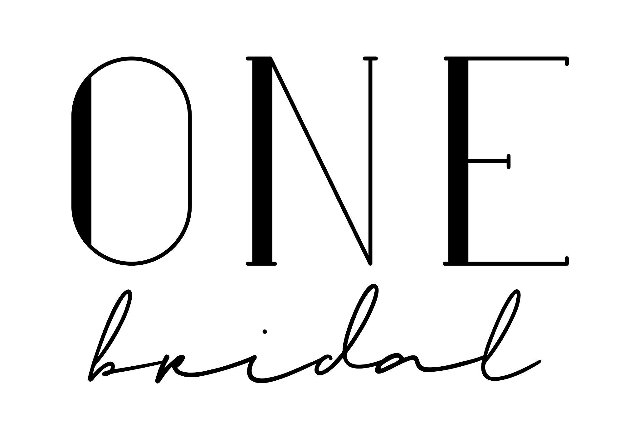One Bridal Logo