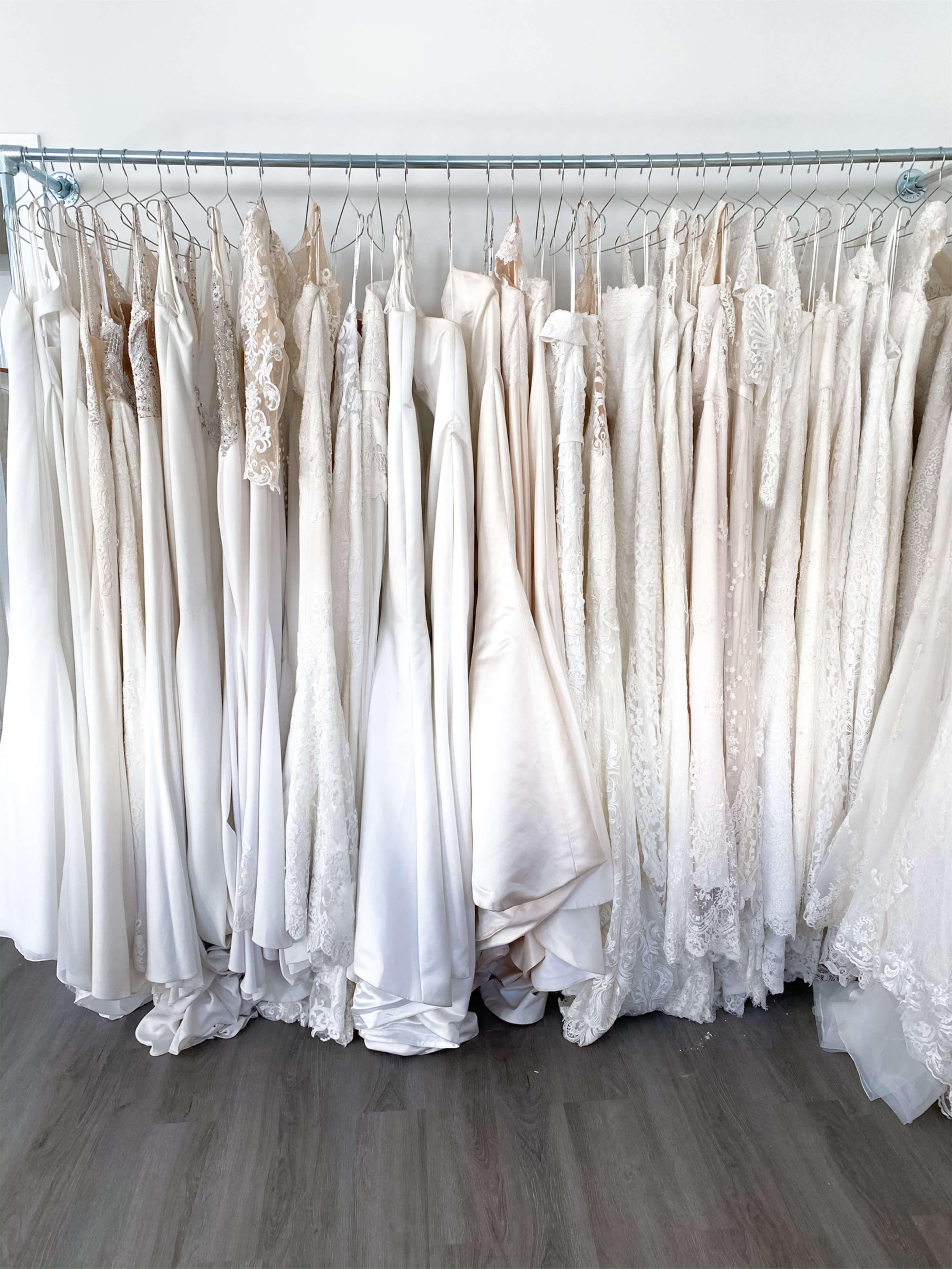 Sample wedding dresses on sale