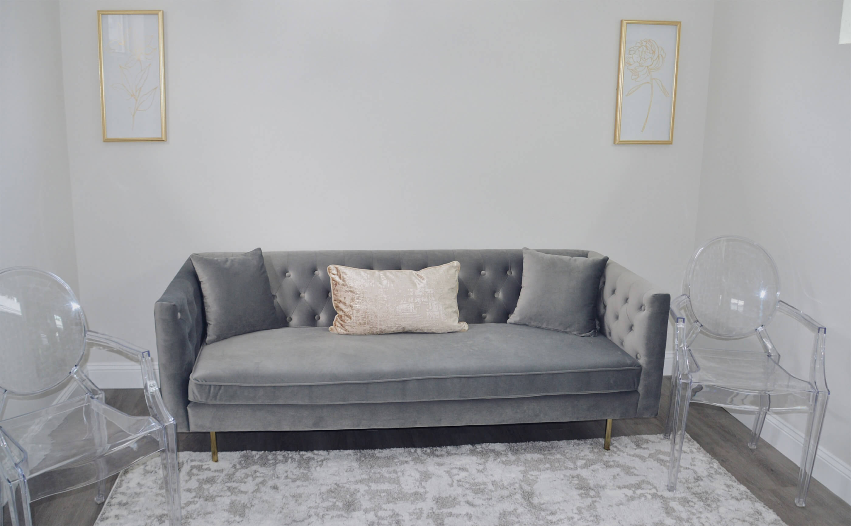 One Love Bridal Outlet Sitting Room