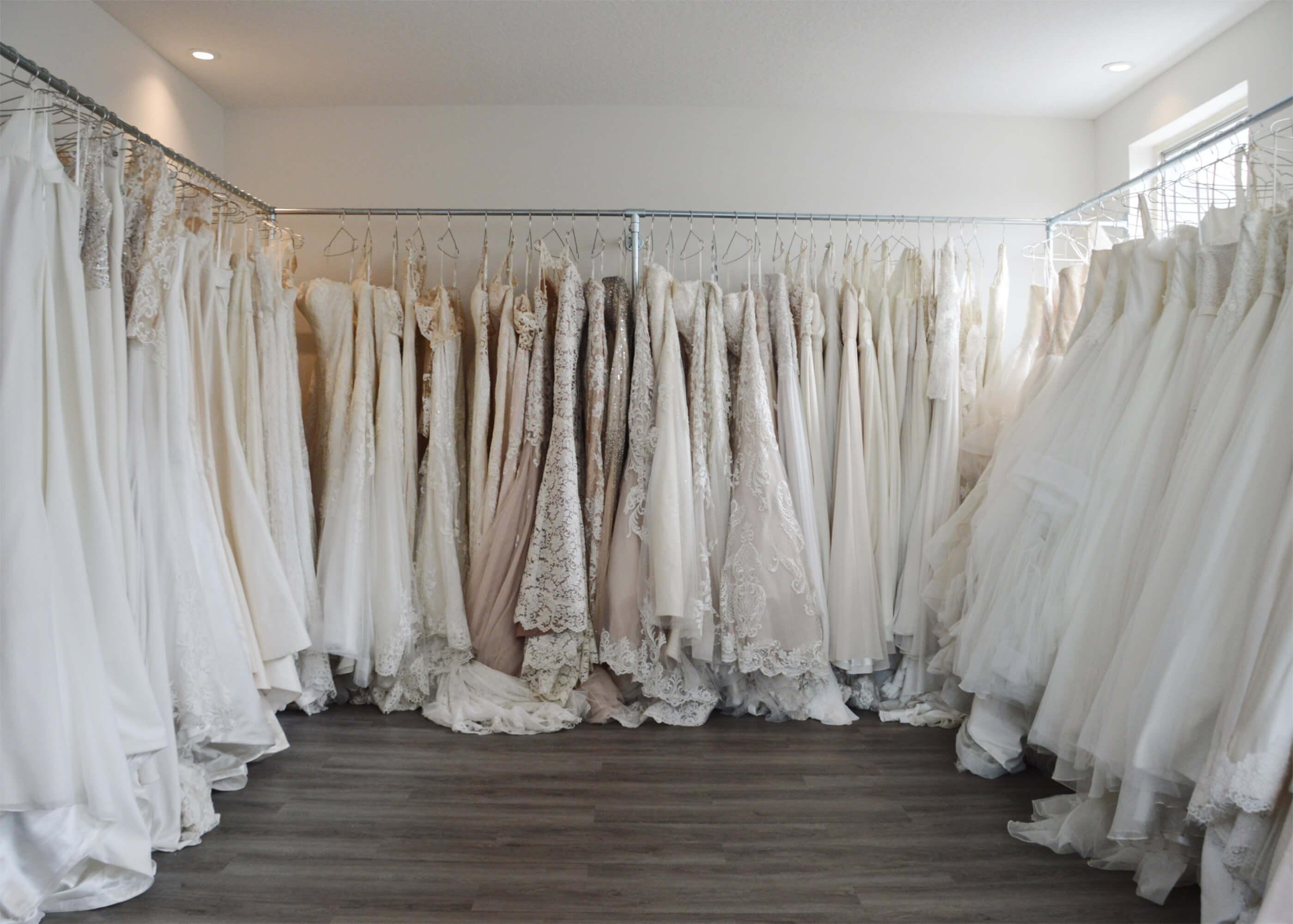 One Love Bridal Outlet Rack Dresses