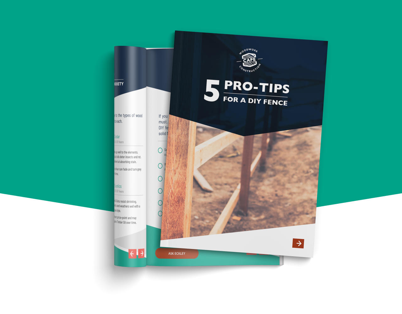 Build your Own Fence Like a Pro - 5 Pro tips handbook