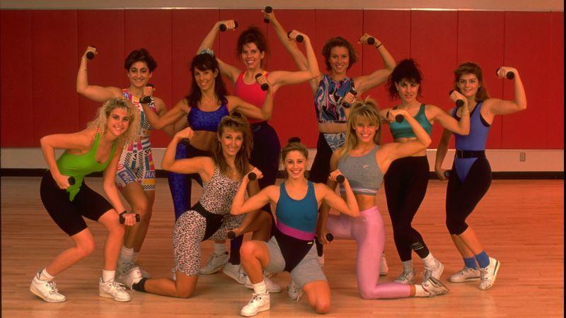 Here's My Glorious Stash of 1990s Aerobics Photos