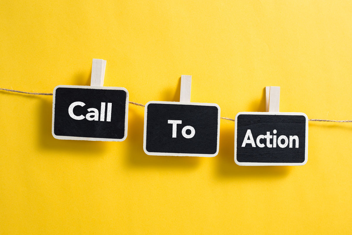 Calls to Action. The good, the bad, the lazy…