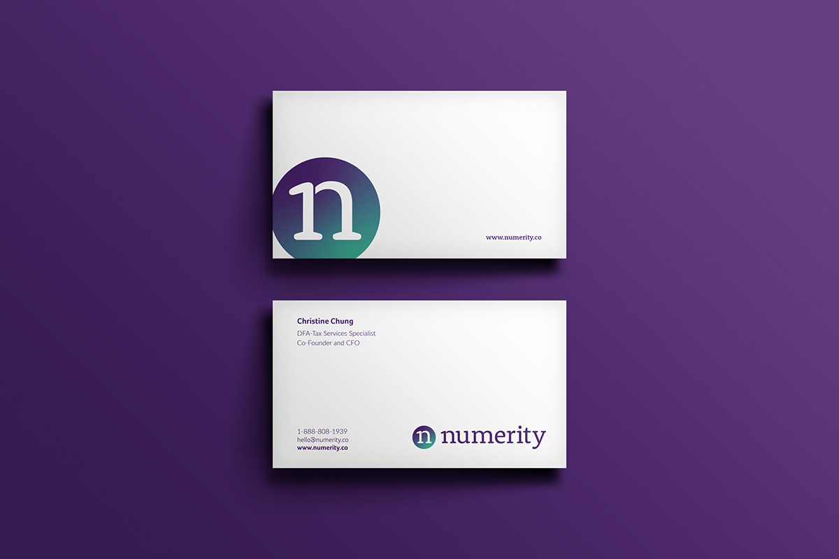 How we developed a unique brand for Canadian accountancy firm Numerity