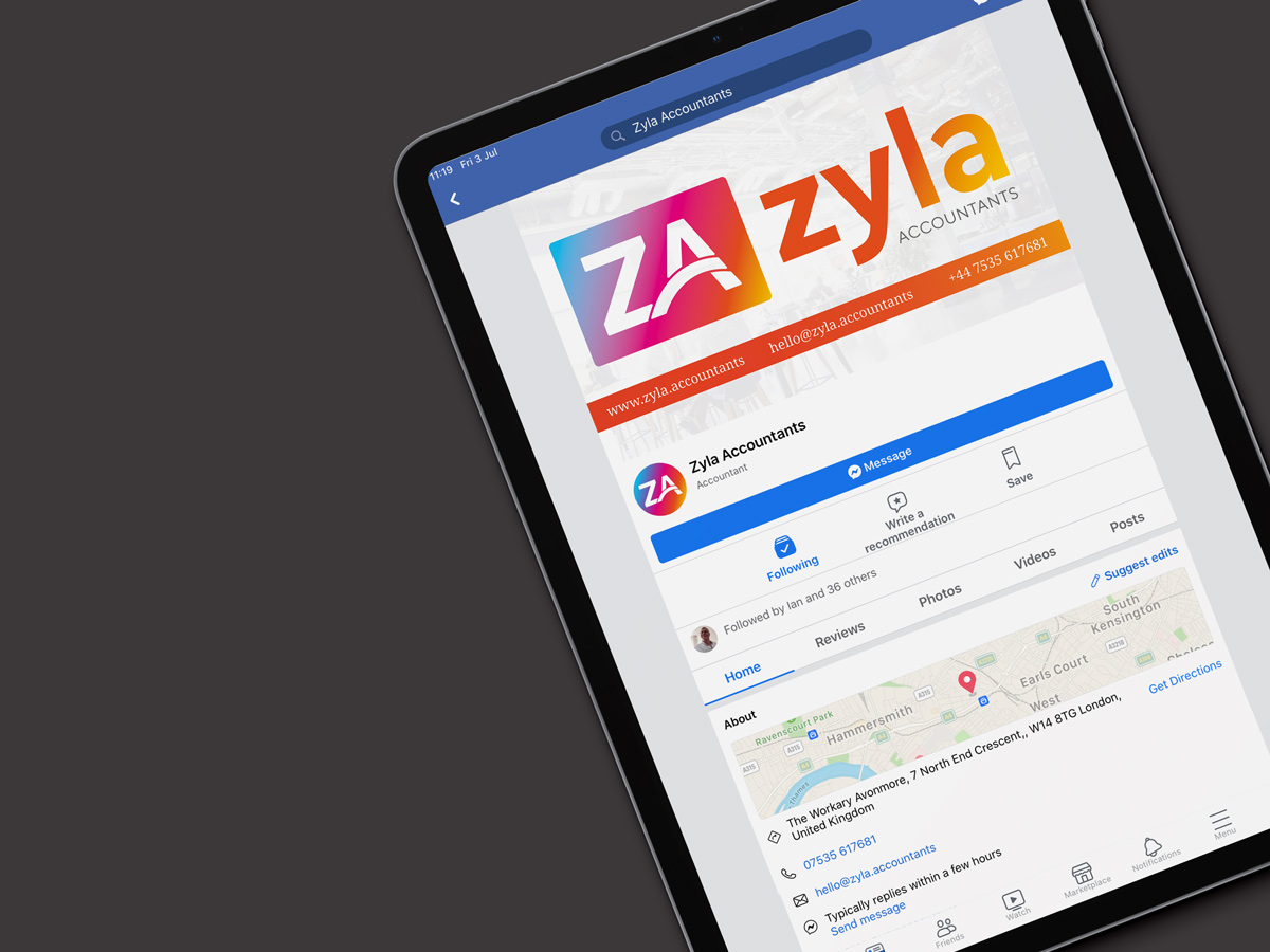 Zyla accountants branding by Prosper