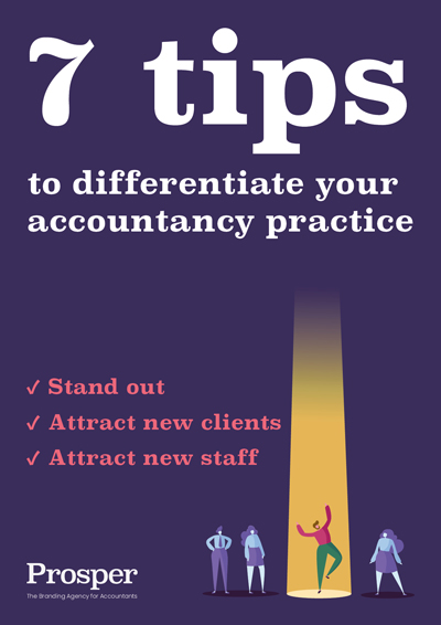 Branding tips for accountants | Prosper the branding agency for accountants