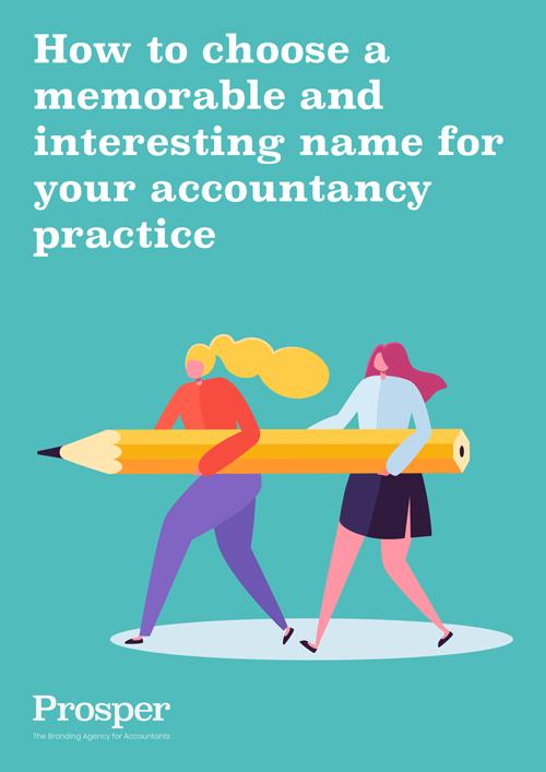 Branding tips for accountants | Prosper the branding agency for accountants