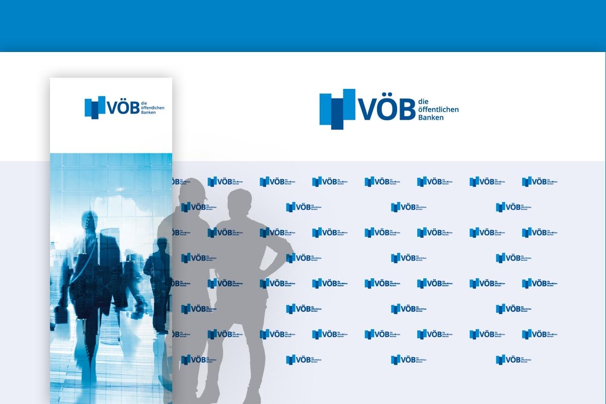 Bildmontage der Pressewände des VÖB