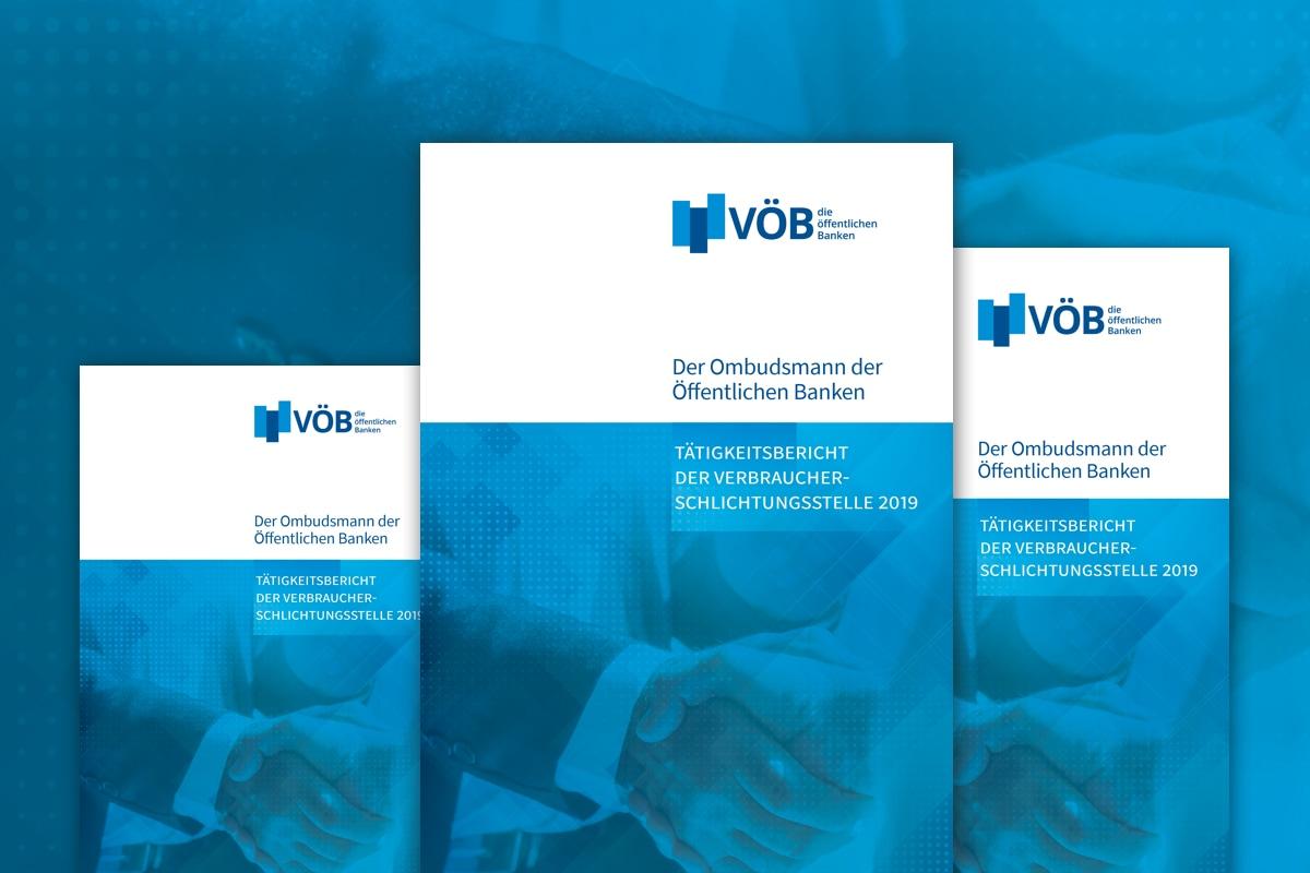 Titelseiten von Broschüren des VÖB