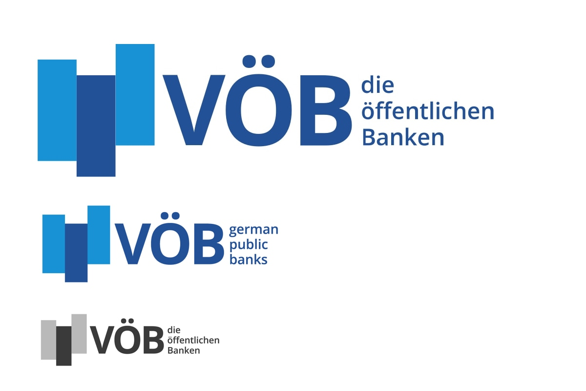 Logoversionen des VÖB