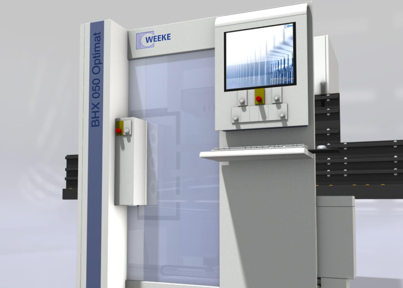 3D Bild einer BHX 050 CNC Maschine der HOMAG AG