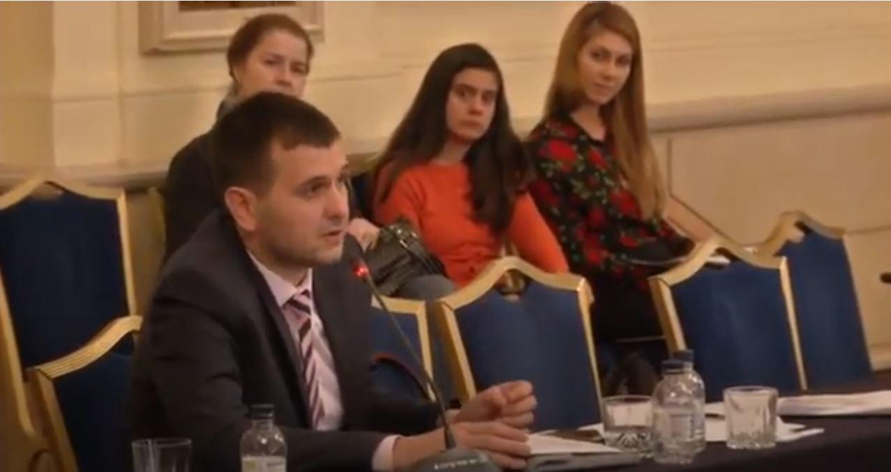 Йордан Иванов на кръгла маса организиранa от Прозрачност без Граници