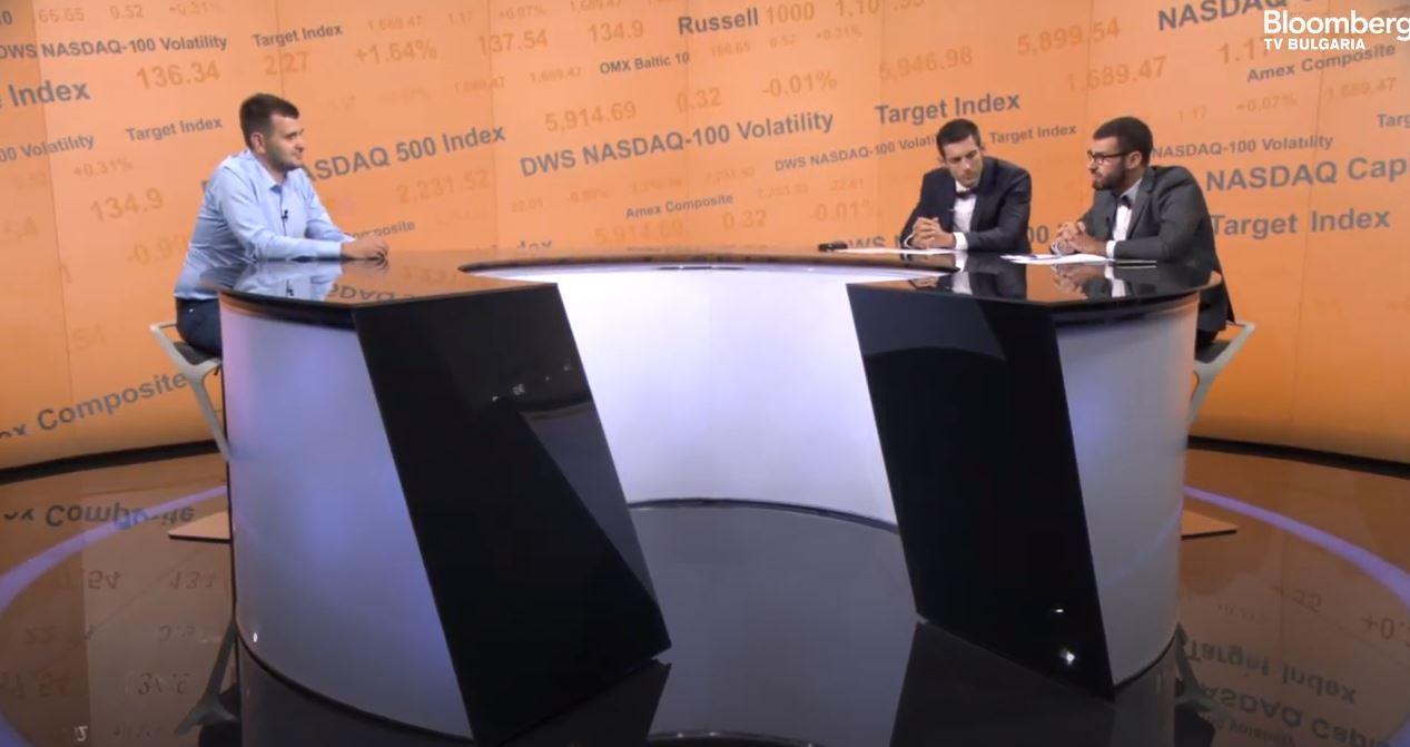 Йордан Иванов пред Блумбърг за децентрализацията и еврофондовете