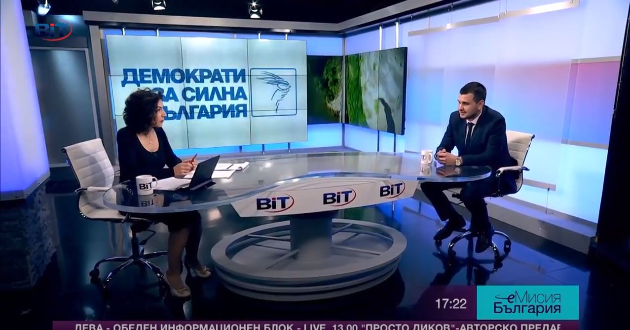 Йордан Иванов е ефира на BIT