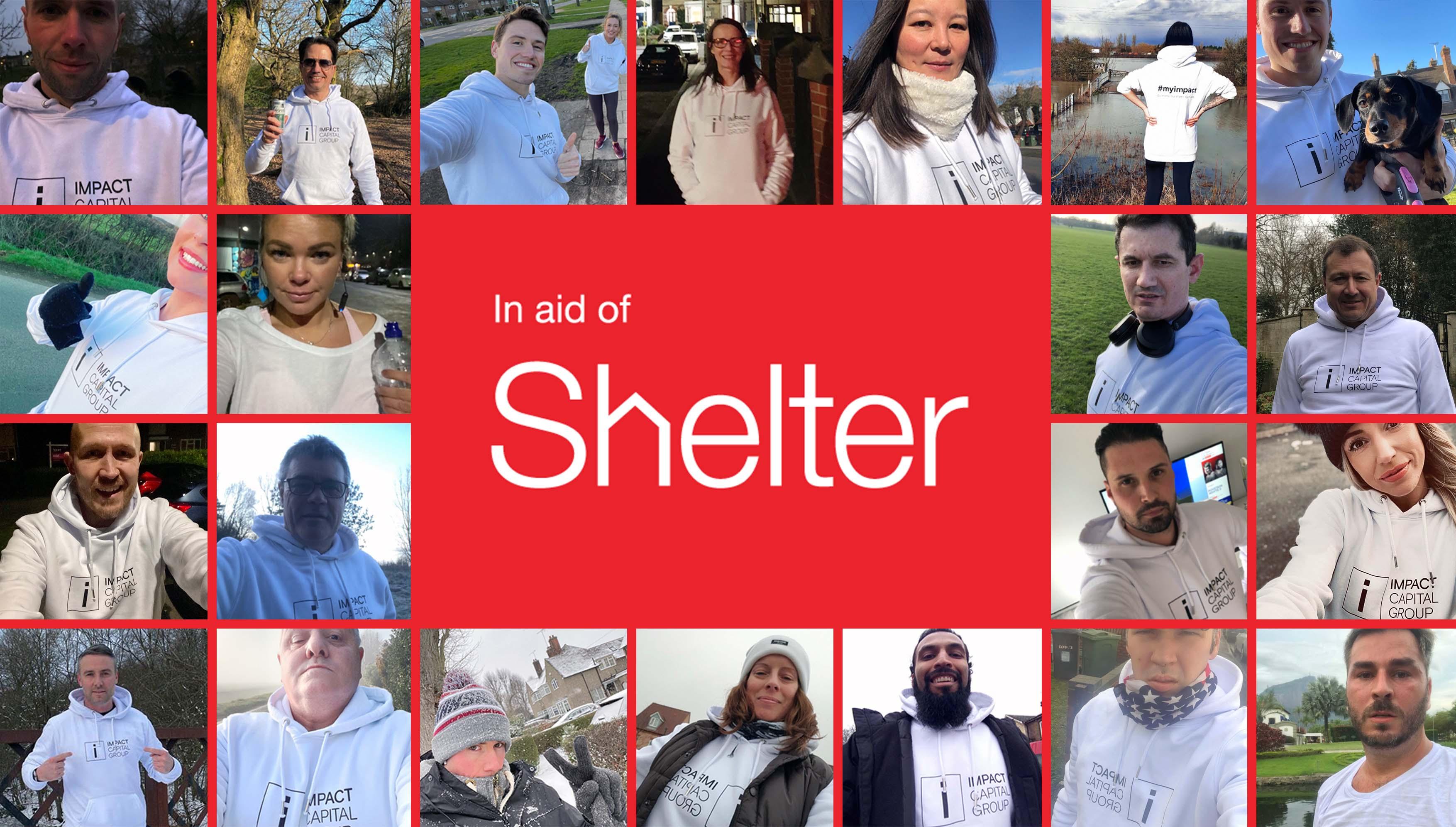 Impact Capital Group raises £5k for Shelter Housing