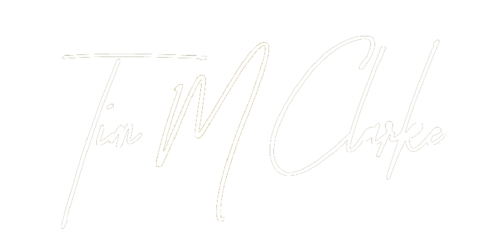 Tim M Clarke Signature Logo