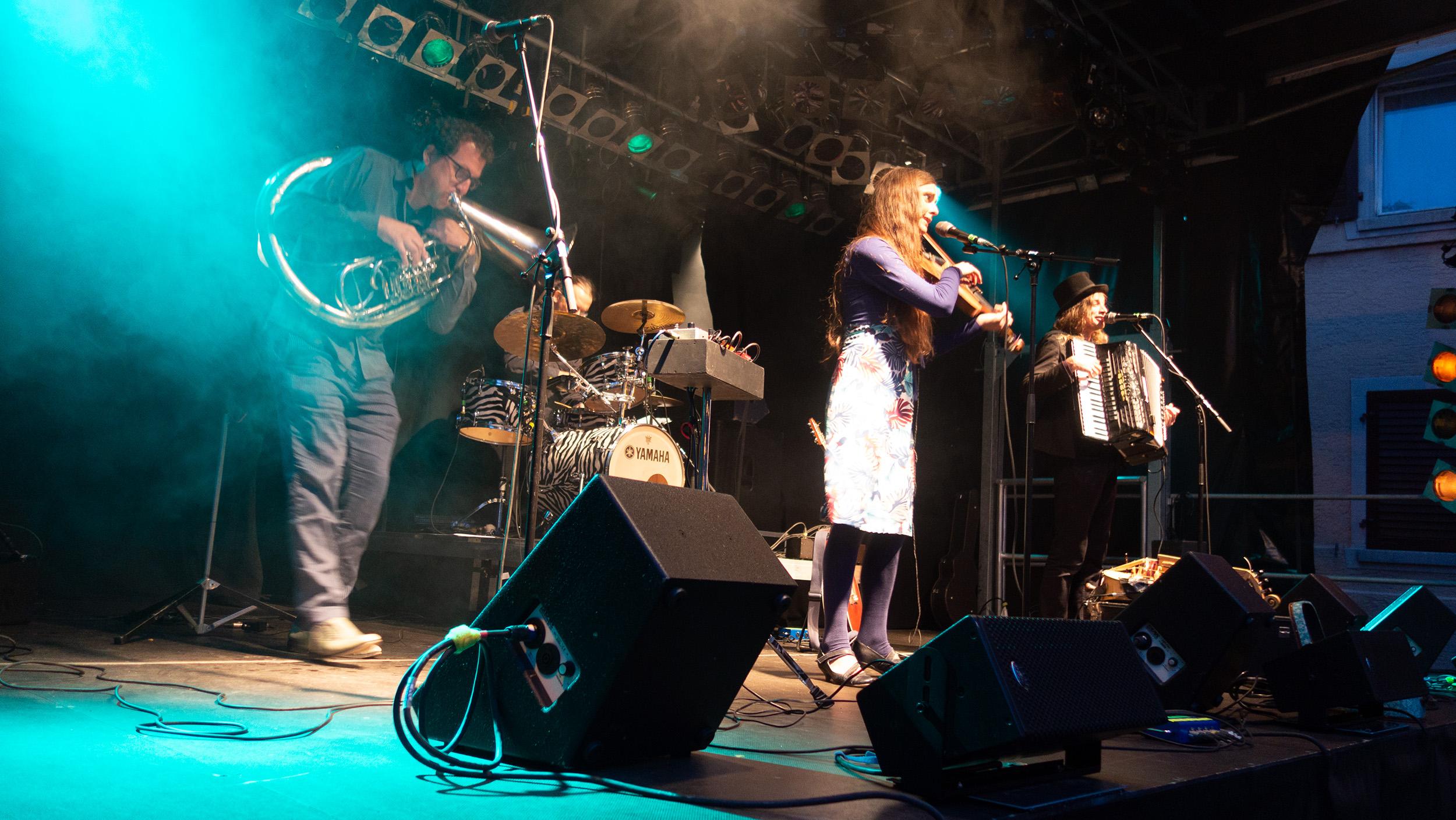 Zéphyr Combo Live