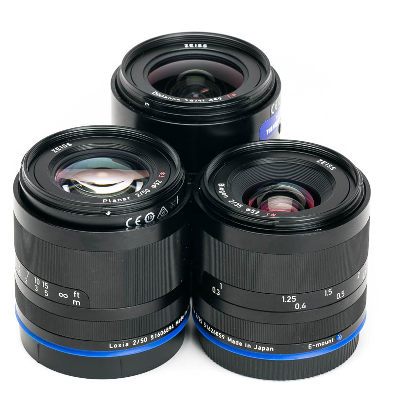 Zeiss - Loxia Primes - Set of 4
