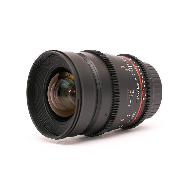 Rokinon - Cine DS 24mm T1.5