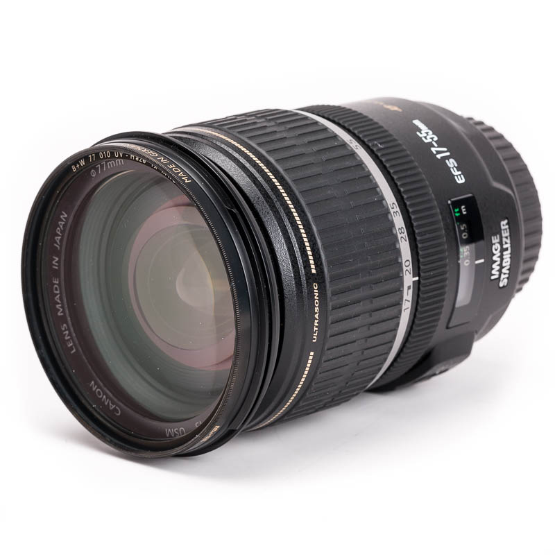 Canon - EF-S 17-55mm f/2.8 IS USM