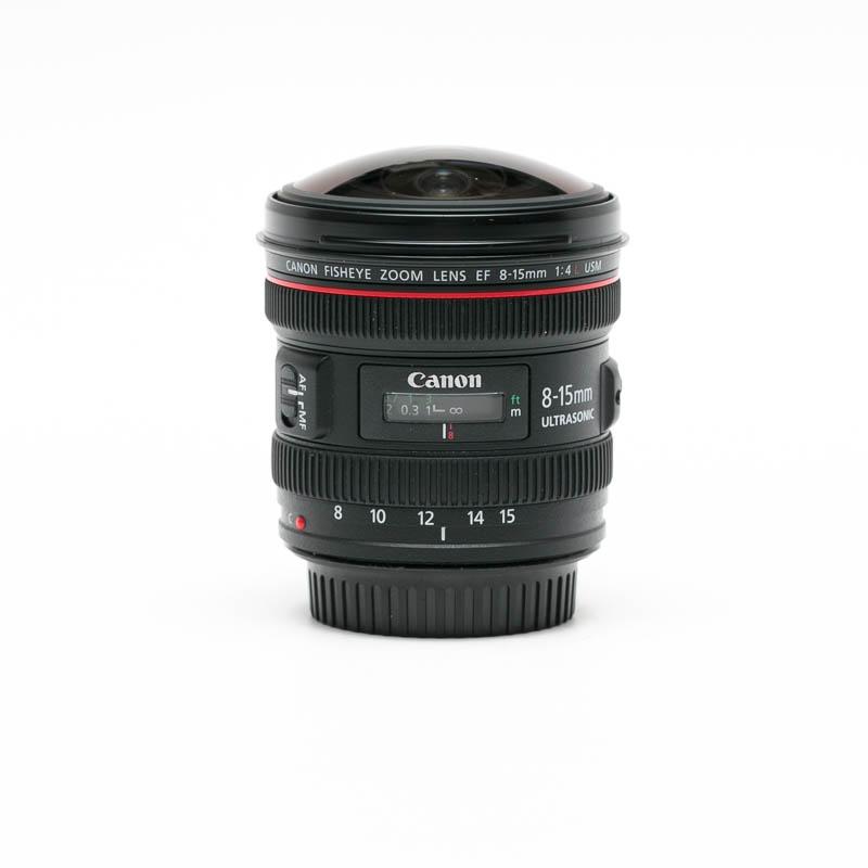 Canon - EF 8-15mm f/4L Fisheye