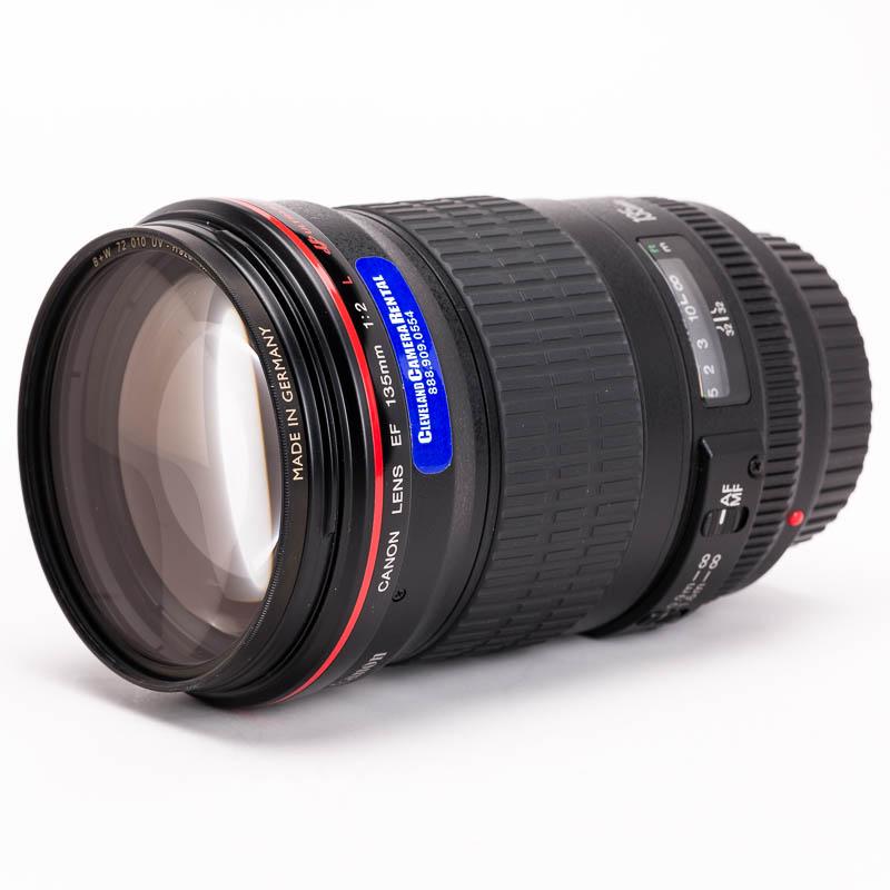 Canon - EF 135mm f/2L II USM