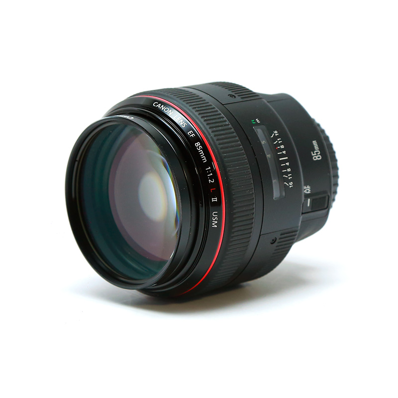 Canon - EF 85mm f/1.2L II USM