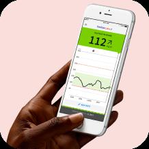Real-time blood sugar sensor