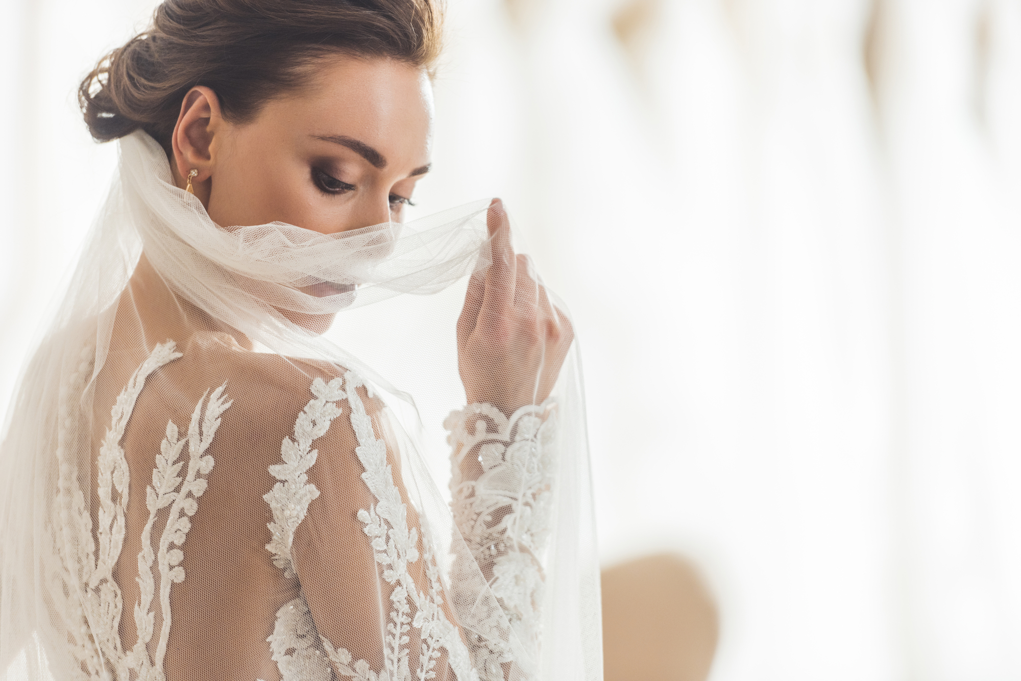 8 Popular Wedding Dress Fabrics Every Bride Should Know