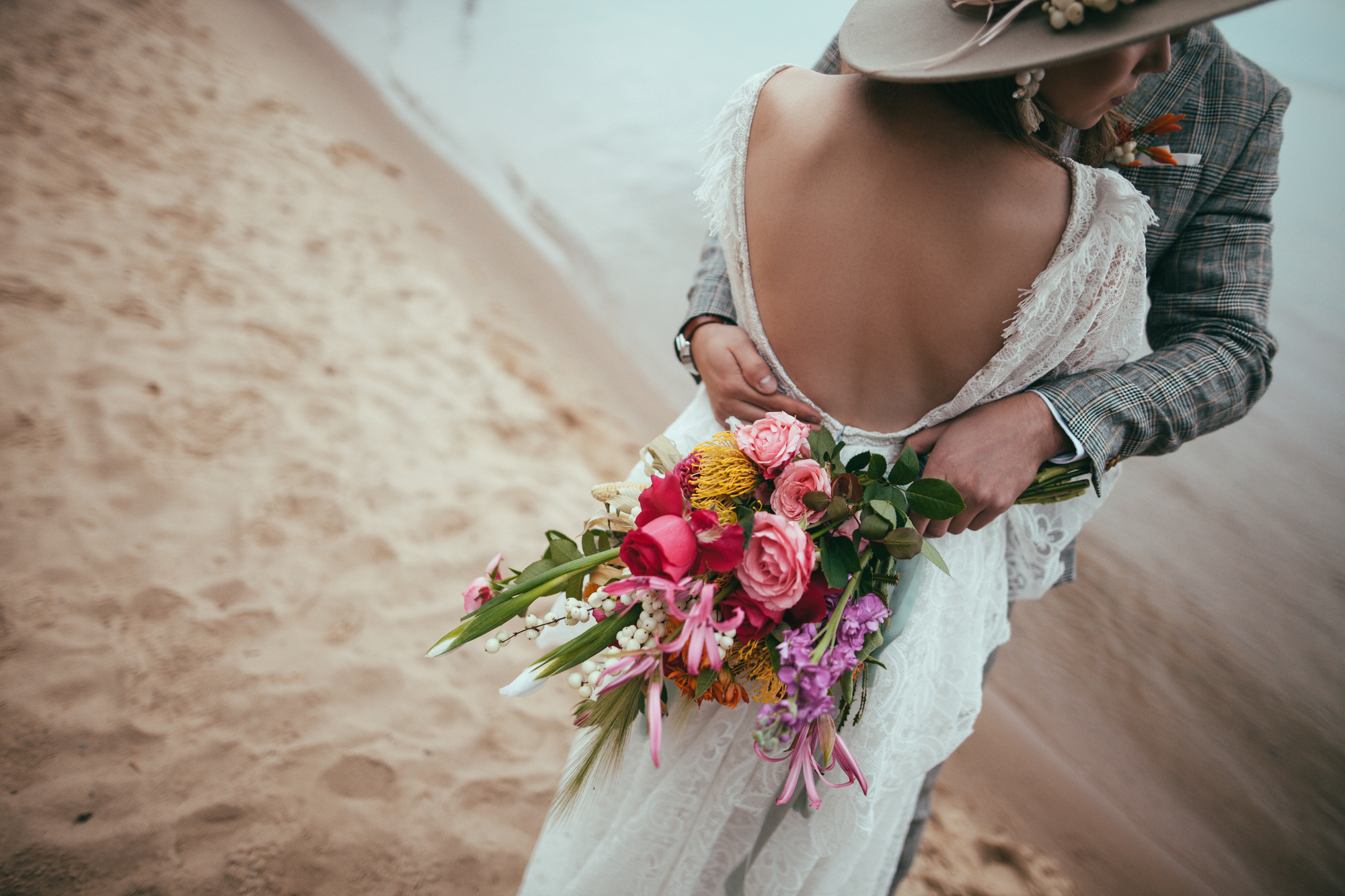 6 Tips for Rocking a Backless Wedding Dress