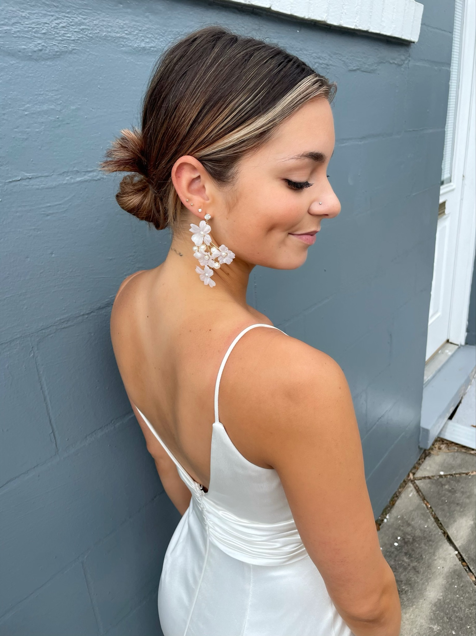 Alexandra Floral Earrings