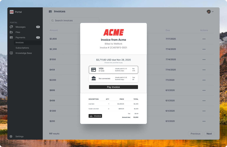 payment checkout modal mobile-friendly
