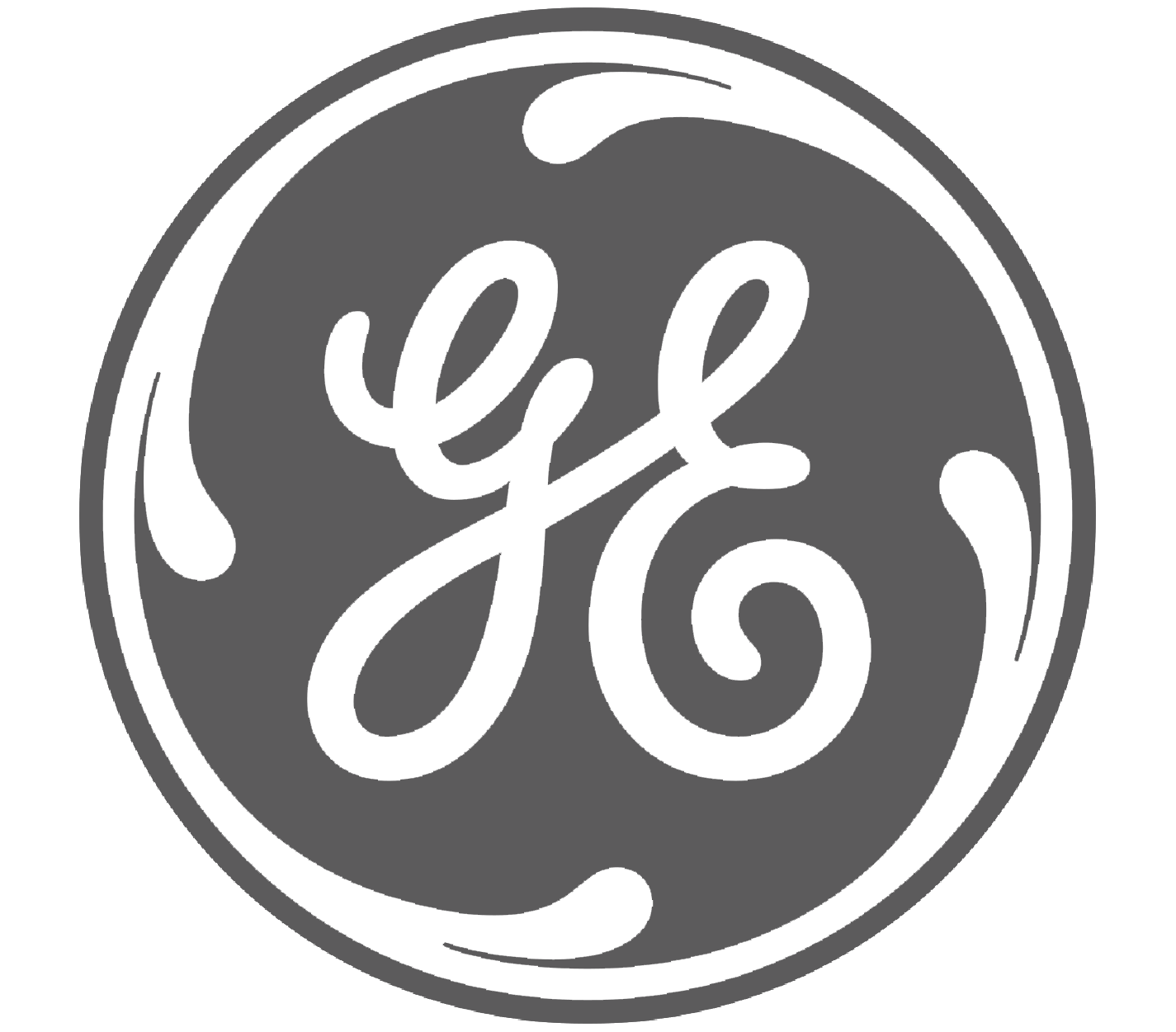 The logo of General Electric