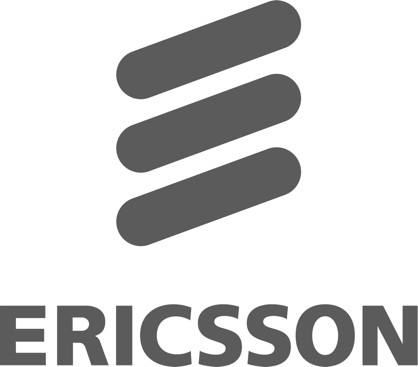 The logo of Ericsson