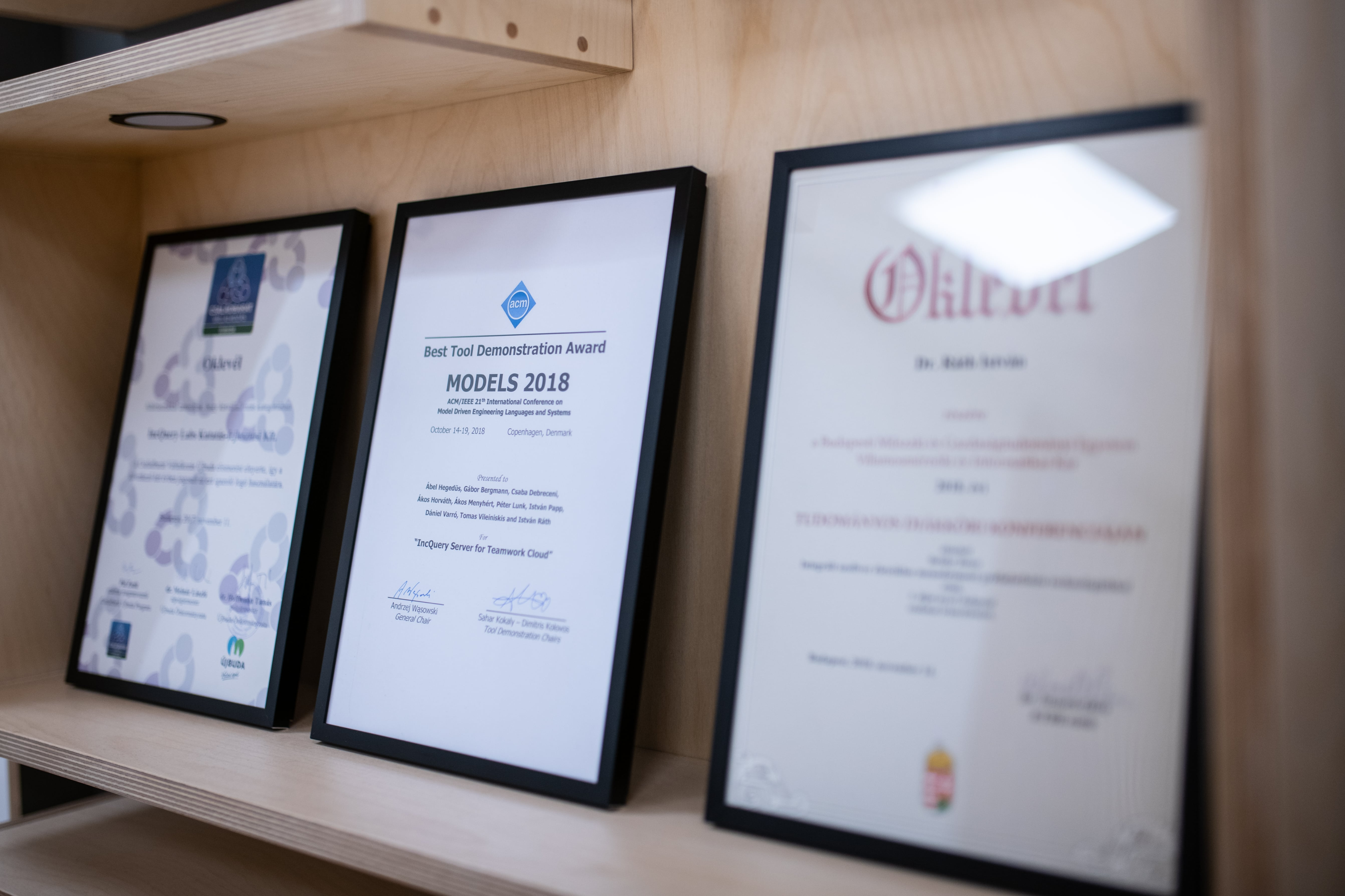 IncQuery Labs is member of the AUTOSAR, NI Alliance, OMG and ISO 9001
