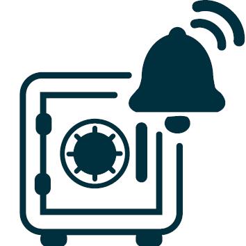 beveiliging met alerts