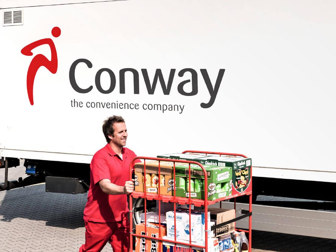 Conway investeert in track & trace en laadruimtebeveiliging