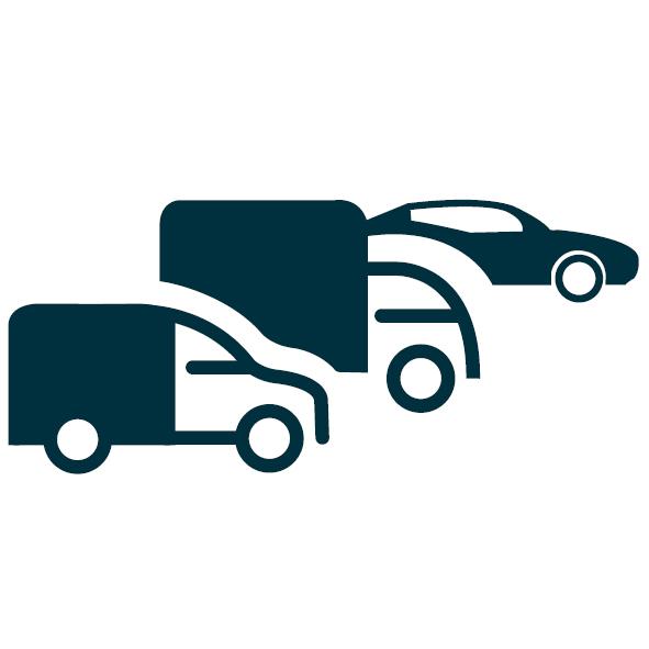 Track & monitor je bedrijfswagens, personeelsbusjes en vrachtwagens