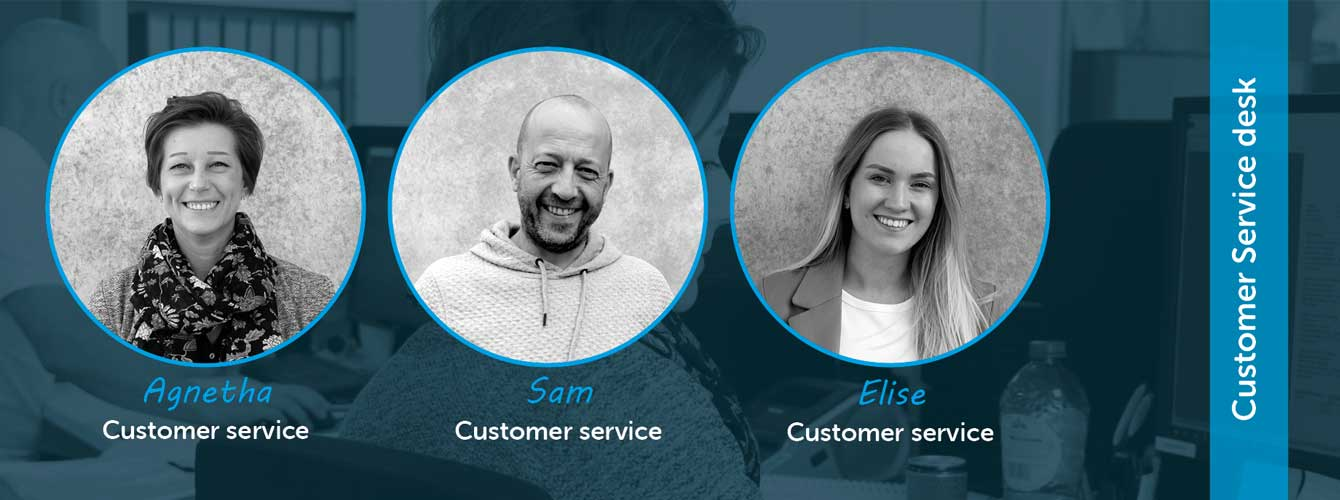 Team All-Connects Customer Service Desk