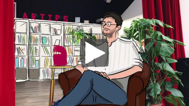 Vidéo sur la collaboration entre Artips Academy & Réseau GES