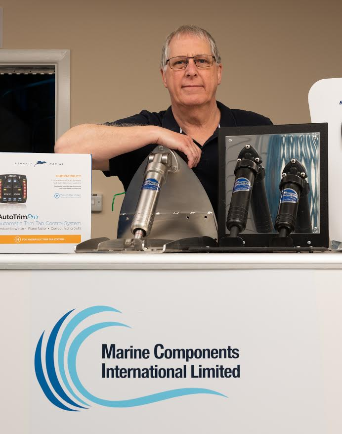 Quick to install, easy to use – the new range of all-in-one trim tab controls from Bennett Marine promoted by European distributor Marine Components International