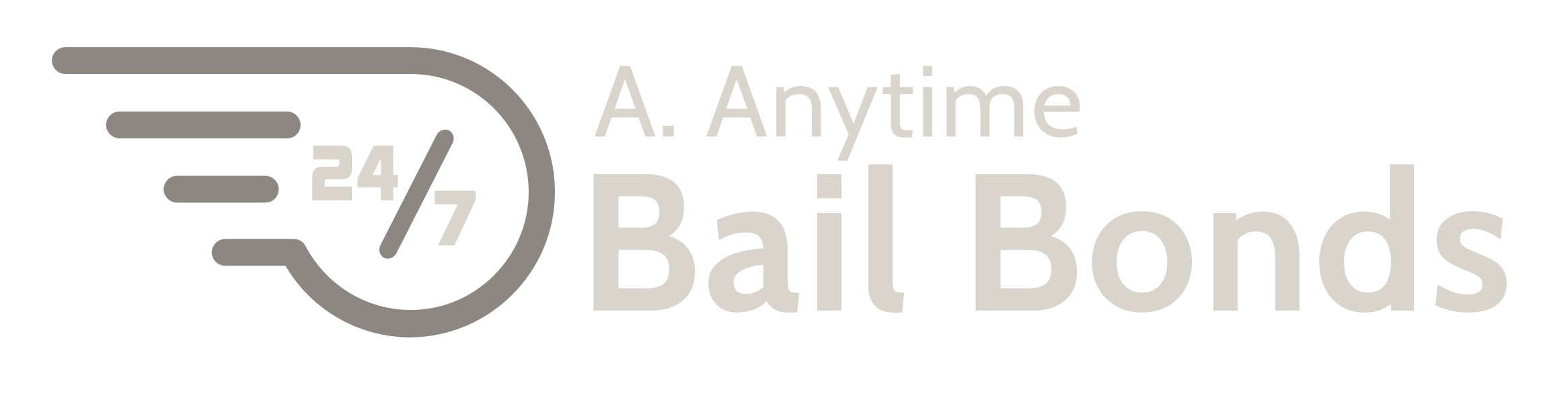 A. Anytime Bail Bonds Logo