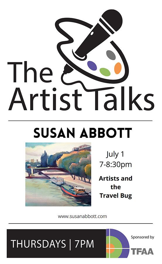 The Artist Talks : Susan Abbott