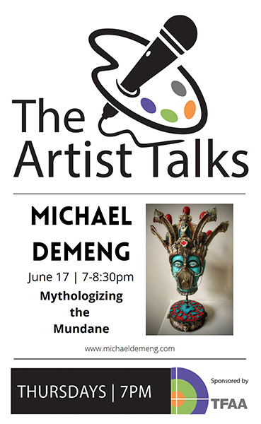 The Artist Talks : Michael deMeng