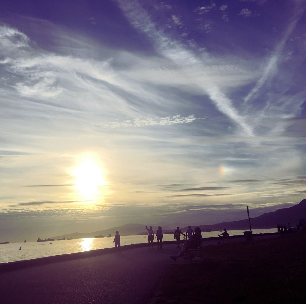 Vancouver sun and skies