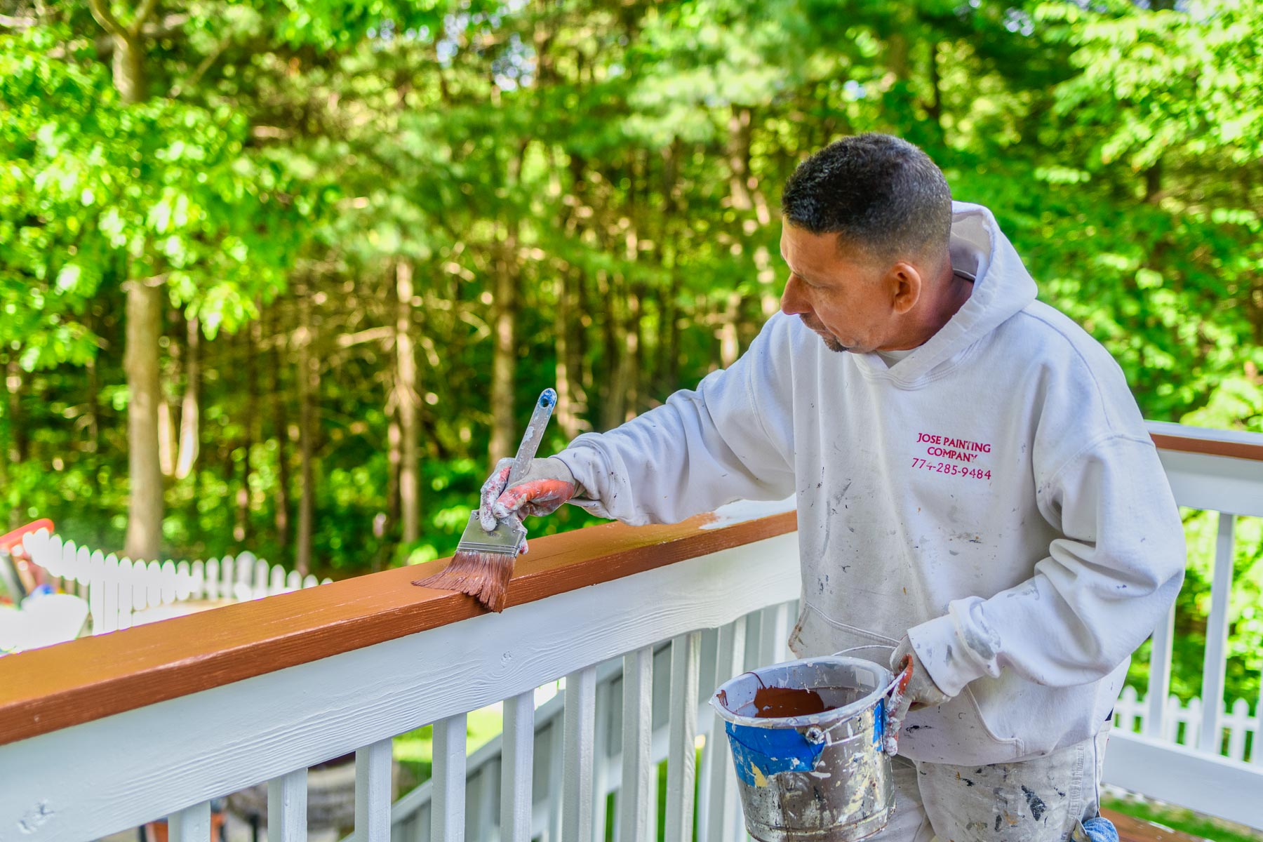 Jose Painting Company - Deck Painting